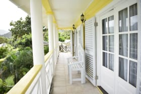 Upstairs Patio shared by all bedrooms