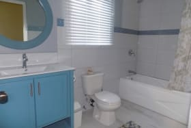 Shared Bathroom with tub