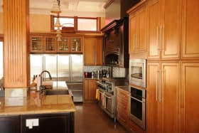 Quality wooden finishes in Kitchen