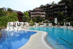 Shared amenities at Marigot Bay Hotel