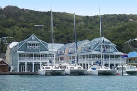 A safe haven for yachts and boats