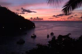 Crimson Sunsets