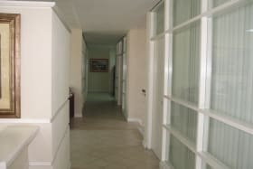 corridor to offices