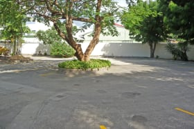 Car park courtyard