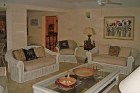 Indoor lounge area
