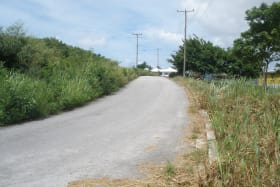 Road within the development leading to residential homes