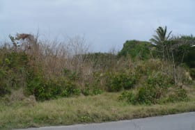 Land from road