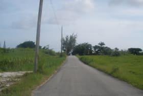 Entrance road to South RIdge