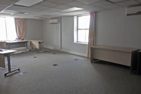 Office space on first floor
