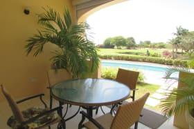 Patio - view of Barbados Golf Club