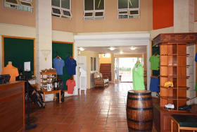 Pro Shop on Main Floor