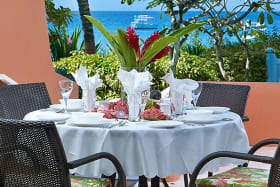 Dine by the Caribbean Sea