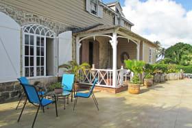 Front open deck