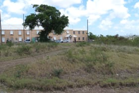 View of Neightouring lot located next to Police Station
