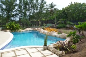 Pool Area with a Section of the Garden