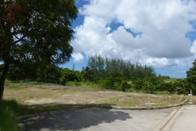 Road view onto Lot
