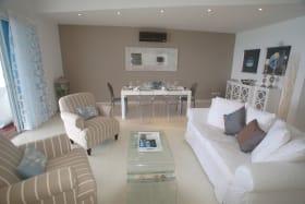 Tastefully Furnished Living Room