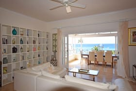 Contemporary, open plan, living/ dining room