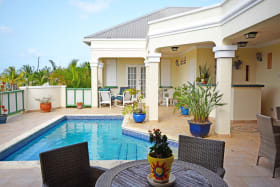 Shared pool and deck area