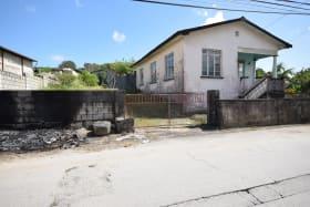 Northeastern elevation - smaller house