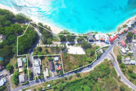 Aerial photo of the Clearwater Bay site