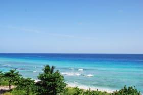 Calm Caribbean seas