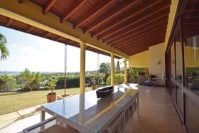 Large covered verandah