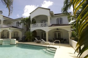 View of Jacaranda from the pool terrace