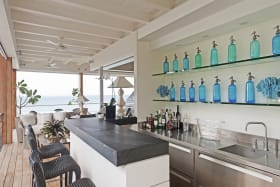 The Dream - Fully Outfitted Bar adjoining the Living Room