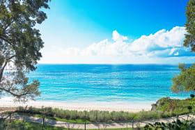 Beach and sea views