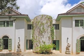 View of main house from Courtyard