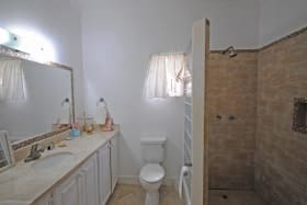 One of 2 bathrooms in house on Lot 3