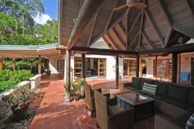 gazebo sitting room and veranda