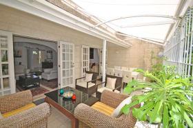 Enclosed verandah