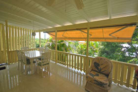 Verandah at Westerlee Apartment
