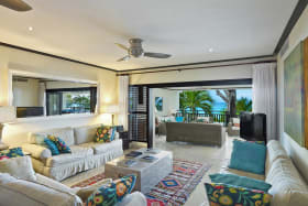 Living Room which opens onto the balcony