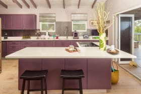 Spacious Open Plan Kitchen on the 2nd Floor