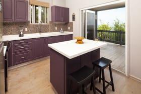 Open Plan Kitchen on the 1st Floor