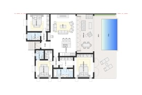 Villa Jade floor plan