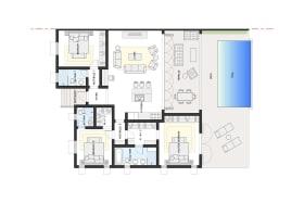 Villa Jade floor plan