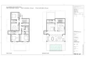 Villa Emerald floor plans
