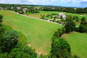 Aerial shot of Lot 18