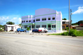 Building from across the main road
