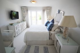 Spacious bedroom suite