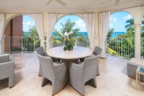 Stunning Sea Views from the Patio of 412