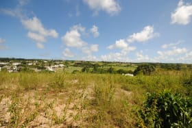 View from Lot 16 looking east towards Royal Westmoreland