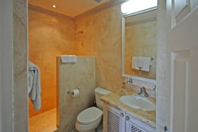 Ensuite master bathroom