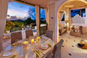 Dining at twilight