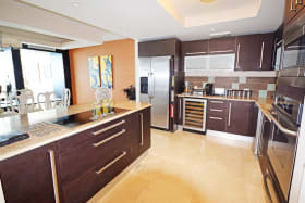 Large Italian designed kitchen with island