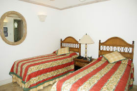 One of the two ground floor bedrooms